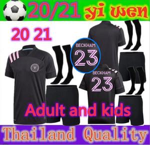 Erwachsene und Kinder 2020 Inter Miami Socer Jersey 20 21 Beckham Julián Carranza Inter Miami CF Football Jerseys Hemden