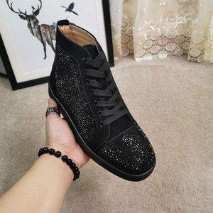 Горячая распродажа-заклепки сапоги кружева железо дрель мужская кожаная обувь и сапоги Мартин сапоги твердые модные новинки