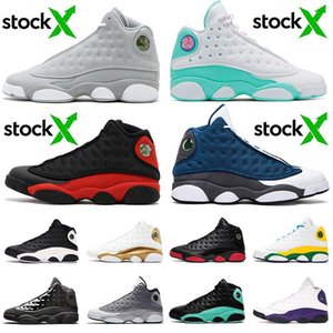 New Jumpman 2020 Flint 13 stock x Mens Womens Basketball Shoes 13s XIII Soar Green Playground Lakers Island Bred Sneakers Size us 13