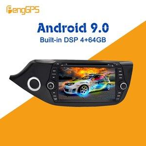 Android 9.0 4 + 64GB px5 DSP incorporado Reproductor de DVD multimedia para coche Radio para Kia Ceed 2013-2017 Radio de navegación GPS Estéreos dvd para auto