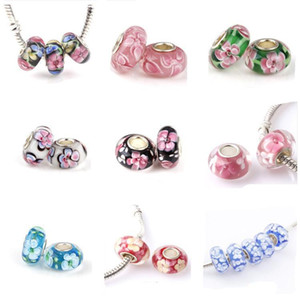 18 styles mix DIY Bracelets pendant Valentine Pendant charms fit European Bracelets for pandora chamilia beads 925 silver plated jewelry