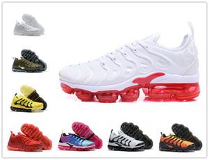 남성 신발 Maxes 팩 배 블랙 캐주얼 신발 2020 새로운 증기 디자이너 TN 플러스 올리브 화이트 실버 신발 남성 신발 미국 7-12