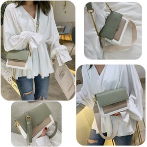 Women Girl PU Synthetic Leather Totes Casual Chain Classic Single Shoulder Crossbody Messenger Bag Handbag Small Square Purse Clutch Bags