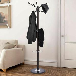 """Metal Ceket Şapka Ceket Standı Ağacı Şemsiye Tutucu Askı Raf Mermer Bankası 67 """""""
