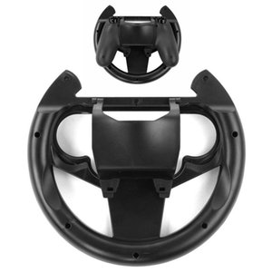 Compact Lightweight Gamepad Joypad Grip Controller With Detachable Cover Gaming Racing Steering Wheel For Sony PS4