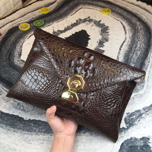2019 New Pattern Crocodile Hand Package Arrogance Full Texture Very Tide wallets european purses for women wallet brand men Free shipping