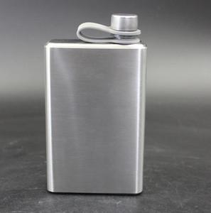 Nouveau ballon de la hanche extérieur portable 304 de qualité alimentaire en acier inoxydable pichet pulvérisation Flasque mat 15 oz gros