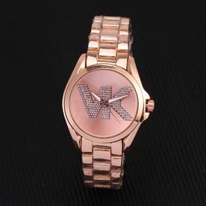2020 Yeni Lüks Rhinestone Rose Gold kadınlar Paslanmaz Çelik saatler Kadınlar İzle Diamonds Kuvars Lady Paslanmaz Çelik Marka Saatler Orologio'nun