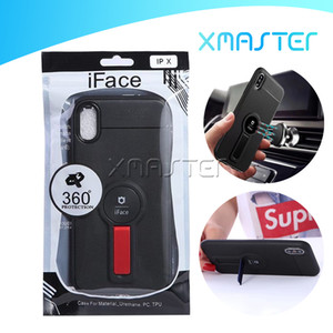 iFace Phone Case para iPhone XS MAX XR X 8 Ultra Casos Magro TPU Kickstand para Samsung S10e S10 Além disso A2 NÚCLEO A60