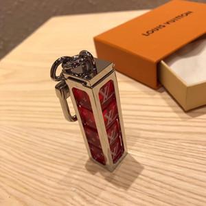 2020 catena con BOX + chiave regali ciondolo portachiavi lettera lusso ciondolo chiave di marca di fascia alta moda quota pendente del sacchetto di compleanno per gli uomini