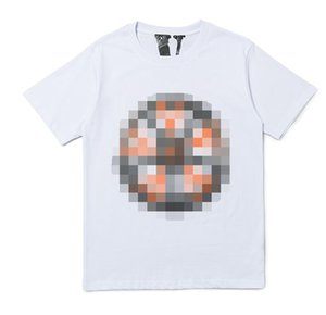 V and LONE joint name wheel large V short sleeve TEE summer men and women loose couple street bottoming T-shirt