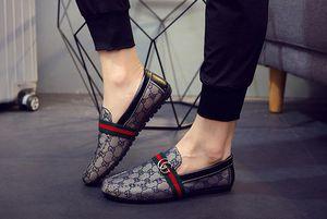 Erkek iskarpin Erkek Deri Yürüyüş Tekne Ayakkabı loafer'lar Makosenler Flats ayakkabı erkekler Lüks Sıcak Satış Moda