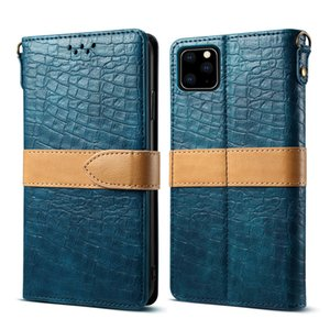 For iphone XS XR MAX 6 7 8 plus Cases Case High Quality Luxury Crocodile Flip PU Leather Case Mobile Phone Cases