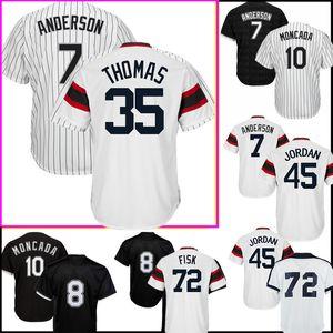 7 팀 앤더슨 저지 호세 아브레우 79 개 35 72 프랭크 토마스 칼튼 피스크 21 개 프레이 야구 유니폼