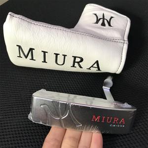 MIURA KM-009 Putter tête forgée en acier au carbone avec la pleine fraisé CNC Marque Golf Clubs Putters sports (Le prix est la tête + headcover, sans arbre)