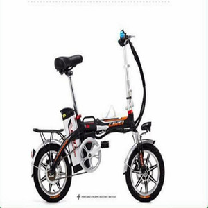 14-Inch Portable Folding Lithium-ion óleo do freio Fork Absorber bicicleta elétrica
