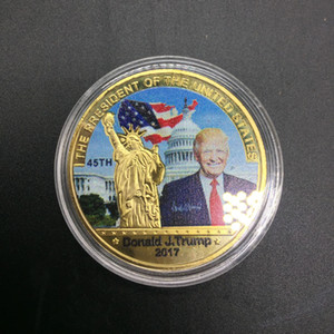Wholesale Collection Promotional Gifts Paint 2017 Cai Cai Spraying Foreign Trade Commemorative Coins84