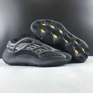 Son Sürüm 700 V3 Siyah koşu ayakkabıları onaylar 700 V3 Azael Erkek Kadın Spor açık hava spor Günlük Ayakkabılar H67799 boyutu 5 ~ 13