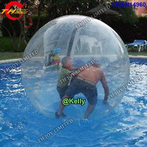 multi Farbwahlen wässern gehenden Ball für Verkauf, 1.6m / 2m aufblasbarer Wasserballweg auf Wasser, menschliches zorb innerhalb der transparenten Luftblasenbälle