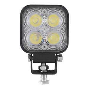 12W 12 - 24V Araba Işık Sürüş Lambası Motosiklet Sis Lambası Led Lamba IP67 su geçirmez Döküm