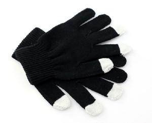 حار! 1 أزواج Unisex Touch Magic Screen Gloves Texting Smartphone Struct Winter Knit Gloves الجملة الموضة الجديدة # VD2897