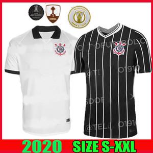 Corinthians pullover di calcio 2020 2021 camisetas corinzie casa lontano GIL RONALDO Jadson FAGNER Pedrinho 20 21 CALCIO SHIRT qualità della Tailandia