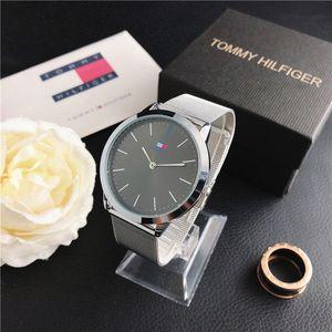 Luxus Mensentwerfer Uhren Frauen klassische Schweizer Uhren berühmten Marken-Quarz-Edelstahl-Armbanduhr Male Uhr Montre de luxe