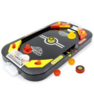 Hockey Game Toy Mini Desktop Battle 2 In 1 Ice Hockey Game Leisure Kids Educational Interactive Christmas Gift Soccer Games