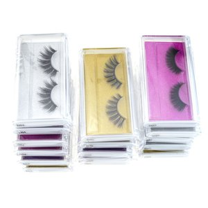 Mink eyelash False Eyelashes Natural Long Fake Eyelash Extension Thick Cross Faux 3d Mink Eyelashes Eye Makeup DHL Free Shipping