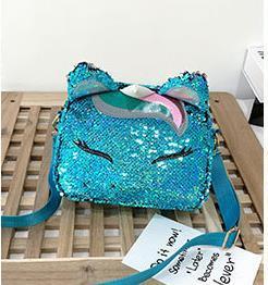 Designer Handbag Cute Creative Funny Sequins Small Bag Female 2020 Newset Wave Shoulder Bags Wild Messenger Bag