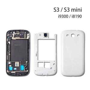 Para Samsung Galaxy S3 S4 S5 Caso cubierta de la cubierta para la galaxia S3 i9300 i9500 i9505 I337 S4 S5 i9600 G900 Tapa de la batería