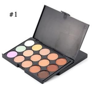 Professional 15 Colors Concealer Foundation Contour Face Cream Makeup Palette Pro Tool para Salon Party Wedding Daily