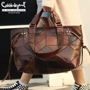 Cobbler Legend Handbags Women Bags Genuine Leather Shoulder Bags for Women New Large Ladies Crossbody Purse