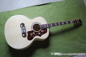violão frete grátis NOVO SJ200 NA43 polegadas verniz popular com captadores Fishman HONGYU