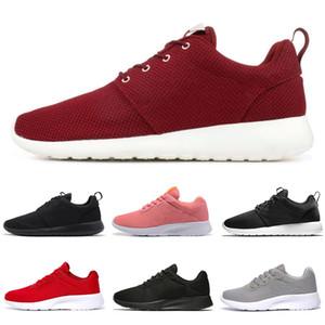 2020 Nueva nike roshe venta caliente Tanjun Running Shoes hombres mujeres negro bajo Ligero transpirable London Olympic Hombres Zapatos casuales tamaño 36-46