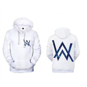 New 2020 Occident, neue Art Alan Walker All Walker 3D Digital Printing Trend Hoodie Ypf563