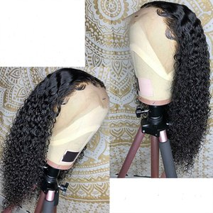 Loose Deep Curly Lace Wigs For Black Women Pre Plucked Full Lace Human Hair Wigs Kinkys Curly 360 Wigs