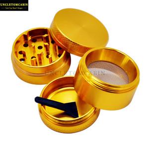 Plastica nera Raschietti pollini per Herb accessori di fumo di trasporto di accessori fumo