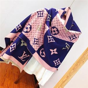 Atacado-Headband lenços para mulheres Lenço de seda Feminino 70x180cm longo lenço xaile cabeça grossa Cachecóis For Ladies Outono Inverno