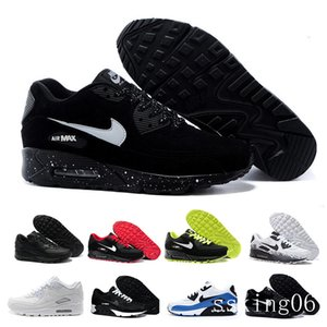 2018 new Women Casual Shoes Classic 90 Women and woman Shoes Casual Trainer Air Cushion Surface Breathable Casual Shoes 9TC-R