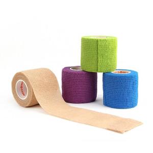 1 Rulo 5 cm * 4.5 m Su Geçirmez Kendinden Yapışkanlı Kinesio Bandaj Bant Kinesiyoloji Bant Parmak Eklemleri Wrap Yapıştırıcı Elastik Kas Bandaj