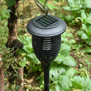 1PC Solar Powered LED Light Mosquito Pest Bug Zapper Insect Killer Lamp Garden Lámparas de césped al aire libre