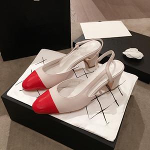 Sapatos de grife Sandálias das mulheres de moda de Salto Alto de luxo Sandálias de Verão de Salto Alto de Alta Qualidade para As Mulheres com caixa e saco de pó 35-39