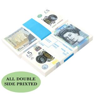 Commercio all'ingrosso soldi migliore qualità Prop uk 100, falso 10 20 50 Euro, dollaro, conteggio falso Money money bambini per il film, il video film, decorazione domestica