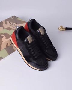 2020 neue Art und Weise Mann-Schuhe schnüren sich oben Ineinander greifen Breath Tarnung Trainer-zufällige Turnschuhe Männer Frühlings-SchuheValentino Herren Damen 35-45 01