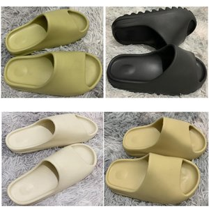 Bone Mujeres sandalia barata Kanye zapatillas de espuma de arena del desierto corredor Resina playa, mujeres, hombres Diapositivas zapatilla sandalias 36-45