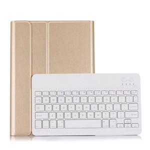 Funda de teclado desmontable con conexión Bluetooth inalámbrica delgada para 2017/2018 iPad Pro 9,7 pulgadas funda de teclado inteligente para iPad Air 1 Air 2