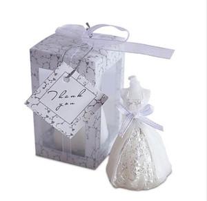 50pcs / set Düğün Gelin Giydirme Mum Misafir Düğün eşyalar Parti Mum Toptan Düğün Hediyesi Favor