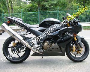 Para kit del carenado de la motocicleta Kawasaki ZX10R ZX10R 2004 2005 04 05 ZX 10R Ninja Moto Set de carenados (moldeo por inyección)