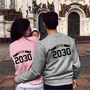 봄 가을 디자이너 크루 넥 긴 소매 스웨터 청소년 패션 Casaul 후드 여자 2,030 편지는 후드 커플 인쇄하기